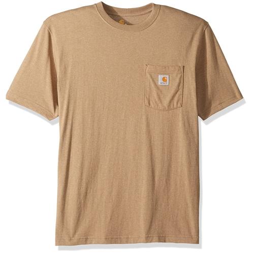 Carhartt Mens K87 Workwear Pocket Short Sleeve T-Shirt (Regular and Big & Tall Sizes)