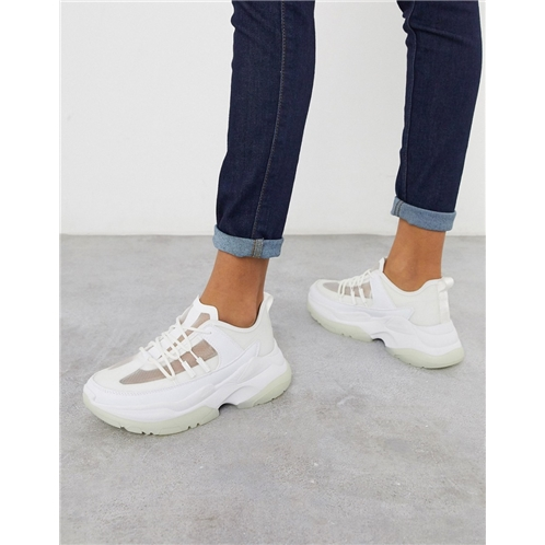 ASOS DESIGN Dabble chunky sneakers in white