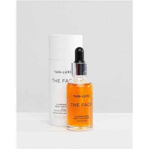 Tan Luxe The Face Illuminating Self-Tan Drops Medium/Dark 1.01 fl oz