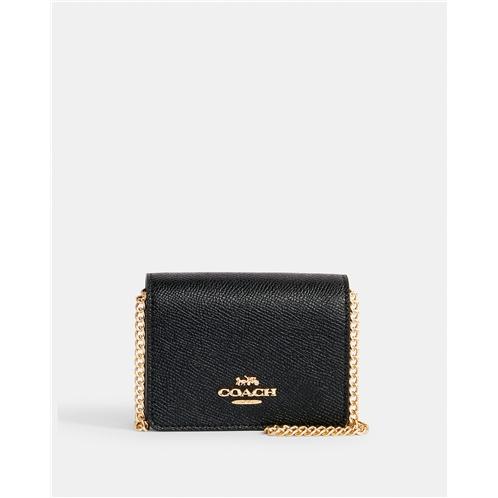 COACH Mini Wallet On A Chain