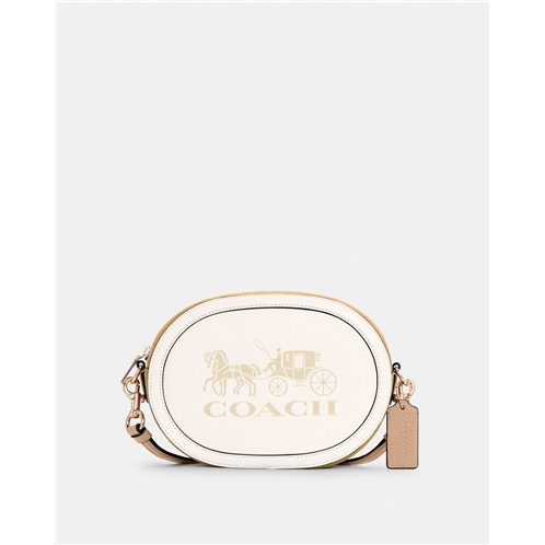COACH Camera Bag In Colorblock With Horse And Carriage