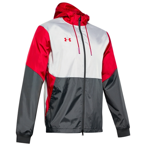 Under Armour Team Legacy Windbreaker - Mens / Red/Red