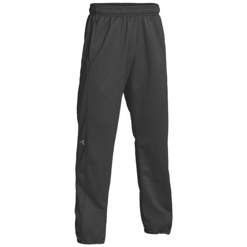 Under Armour Team Double Threat Fleece Pants - Mens / Carbon Heather/Steel