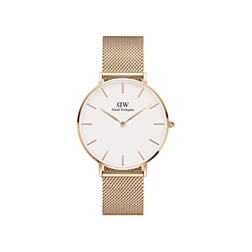 Brand: Daniel Wellington Daniel Wellington Petite Melrose Watch, Rose Gold Mesh Bracelet