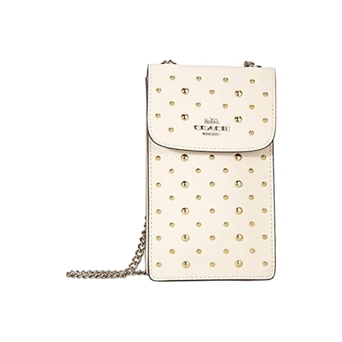 COACH All Over Rivets Phone Crossbody