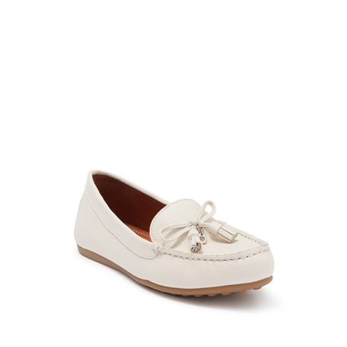 Coach Gia Leather Tassel Loafer