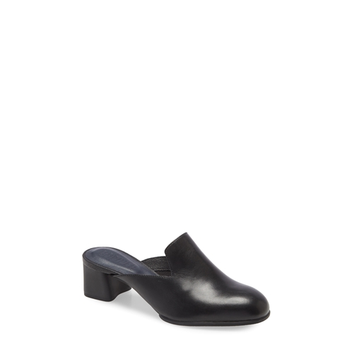 Camper Katie Leather Block Heel Mule