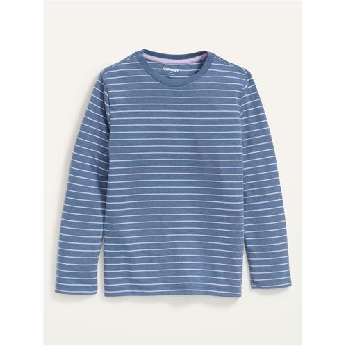 Oldnavy Softest Long-Sleeve Striped T-Shirt For Boys