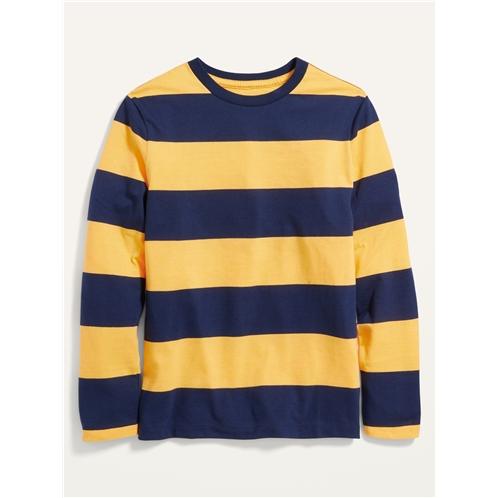Oldnavy Softest Striped Long-Sleeve T-Shirt For Boys