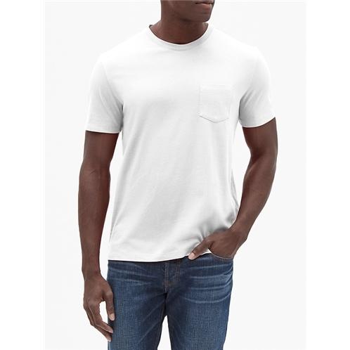 Gapfactory Everyday Crewneck Pocket T-Shirt