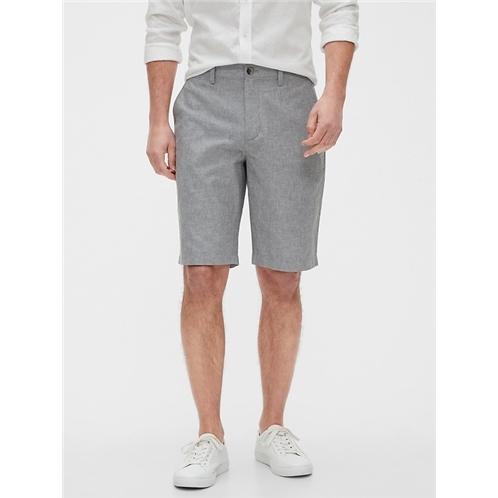 bananarepublic 11 Emerson Straight-Fit Linen Shorts