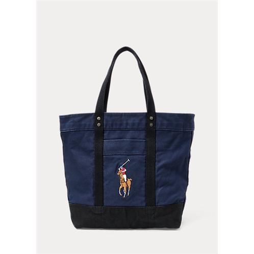 Big Pony Canvas Tote Bag