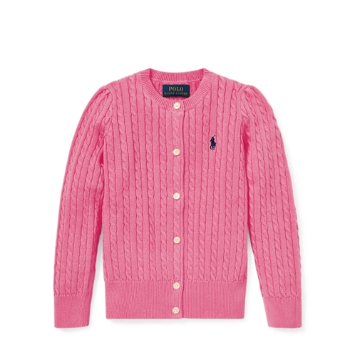 Polo Ralph Lauren Cable-Knit Cotton Cardigan