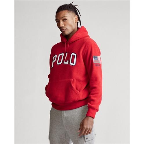 Polo Fleece Hoodie