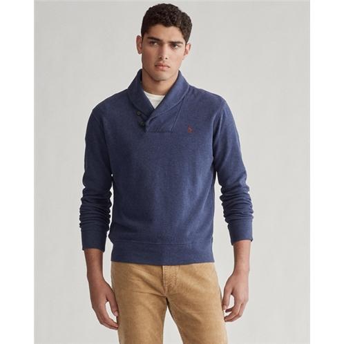 Luxury Jersey Shawl Pullover