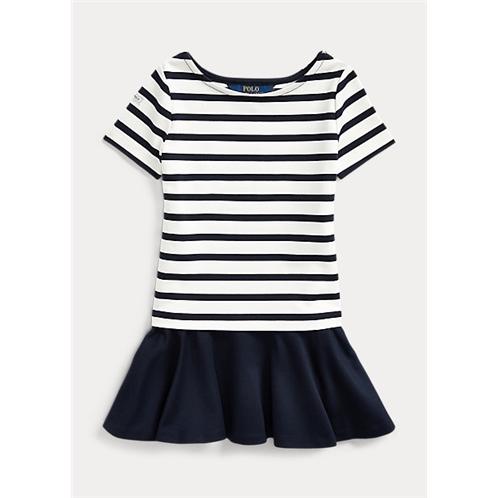 Polo Ralph Lauren Striped Stretch Ponte Dress
