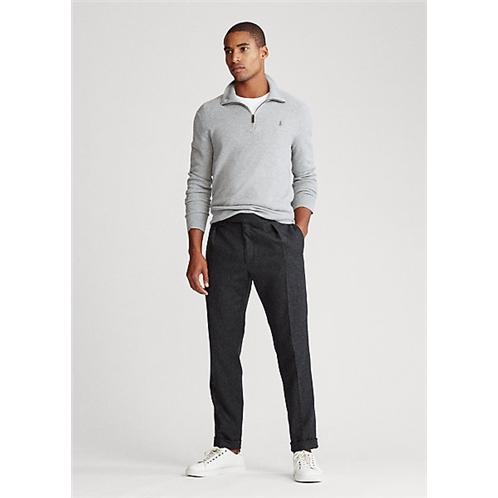 Polo Ralph Lauren Silk Quarter Zip Sweater