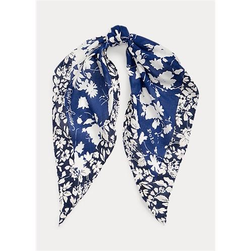 Polo Ralph Lauren Floral Headscarf