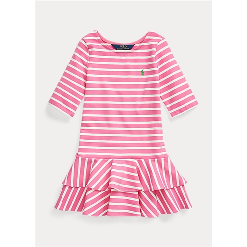Polo Ralph Lauren Striped Stretch Jersey Dress