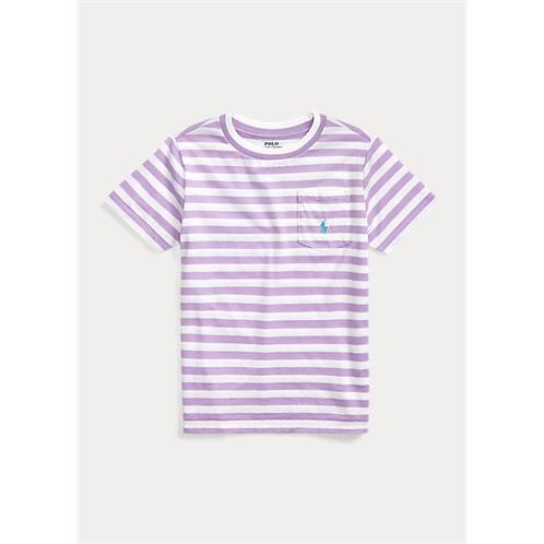 Polo Ralph Lauren Striped Cotton-Blend Tee