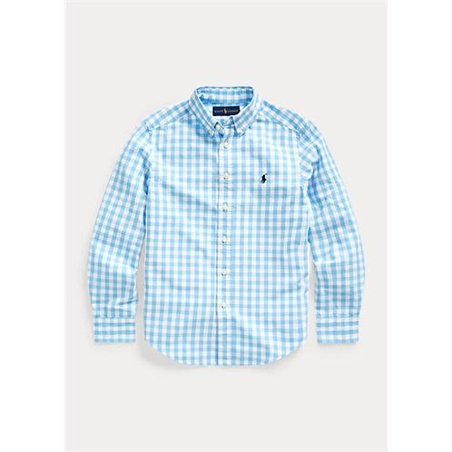 Polo Ralph Lauren Gingham Cotton-Blend Shirt