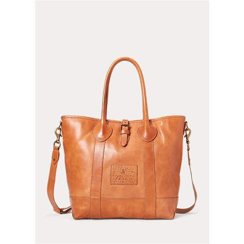 Polo Ralph Lauren Heritage Tumbled Leather Tote