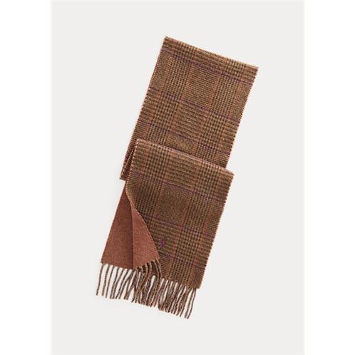 Polo Ralph Lauren Reversible Plaid Wool-Blend Scarf