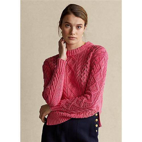 Polo Ralph Lauren Aran Knit Cotton Sweater