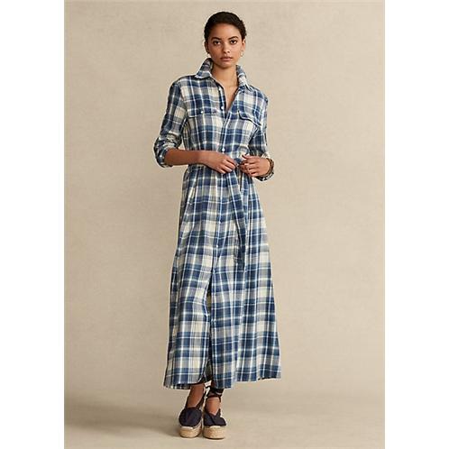 Polo Ralph Lauren Plaid Cotton Shirtdress