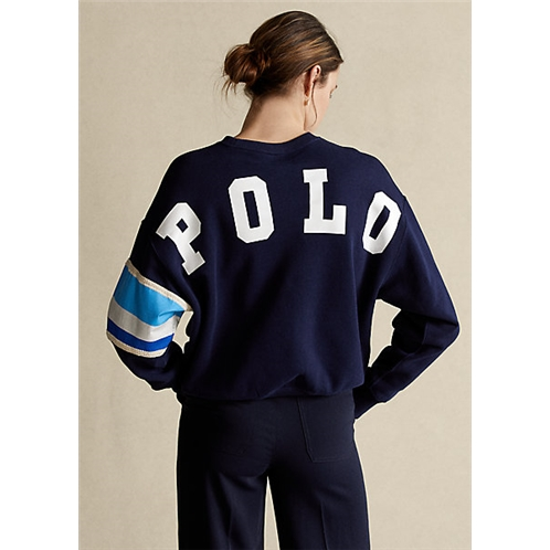 Polo Ralph Lauren Striped Trim Fleece Sweatshirt