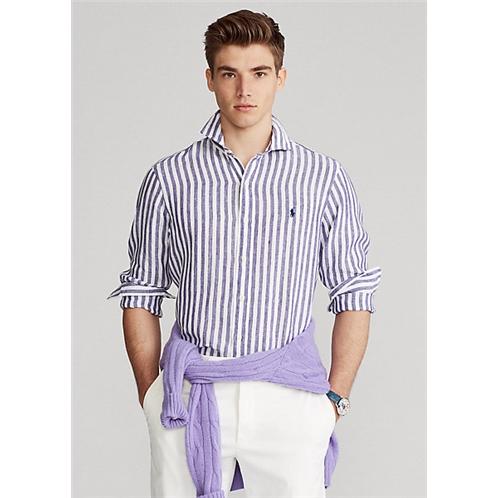 Polo Ralph Lauren Classic Fit Striped Linen Shirt