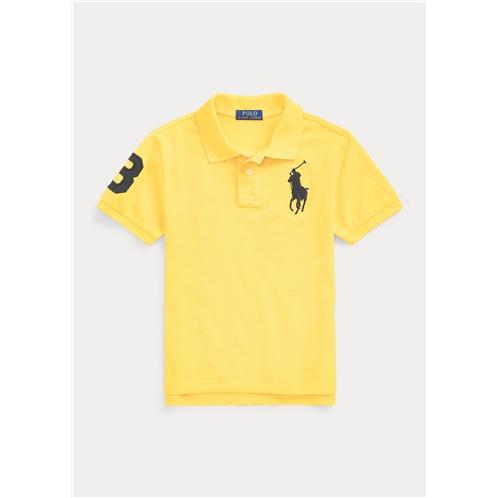 Polo Ralph Lauren Big Pony Cotton Mesh Polo Shirt