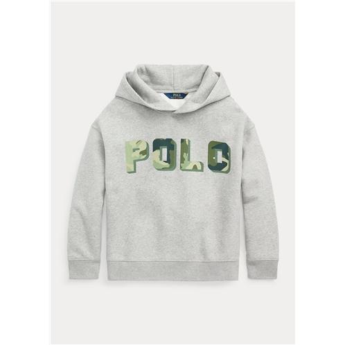 Polo Ralph Lauren Logo Cotton-Blend-Fleece Hoodie
