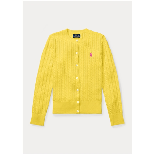 Polo Ralph Lauren Mini Cable Cotton Cardigan