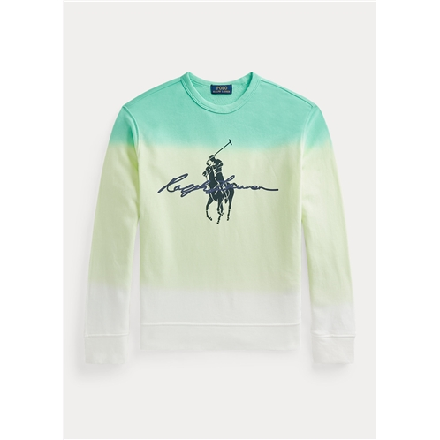Polo Ralph Lauren Dip Dyed Spa Terry Graphic Sweatshirt
