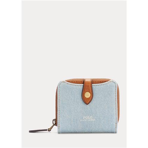 Polo Ralph Lauren Denim Compact Wallet