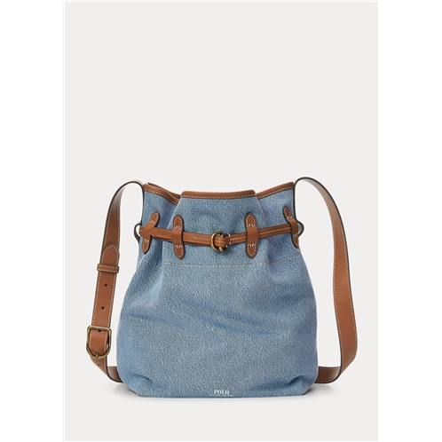 Polo Ralph Lauren Denim Bellport Bucket Bag