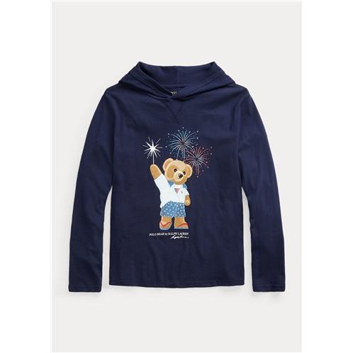 Polo Ralph Lauren Polo Bear Cotton Hooded Tee