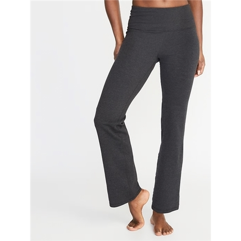 High-Waisted Slim Boot-Cut Yoga Pants For Women