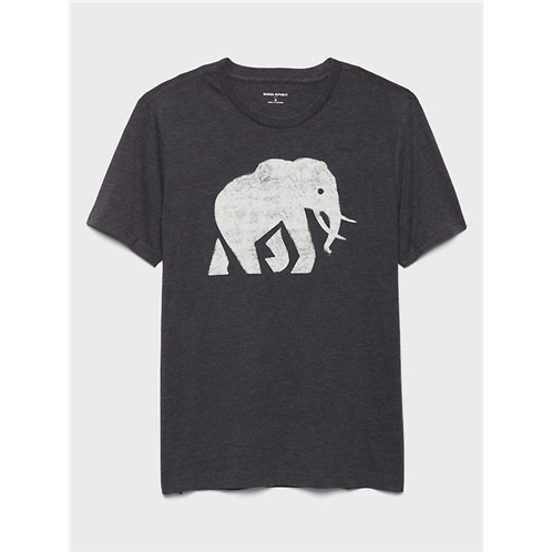 bananarepublic Elephant Logo Graphic T-Shirt