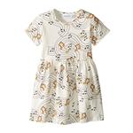 Mini rodini Music Short Sleeve Dress (Toddler/Little Kids/Big Kids)