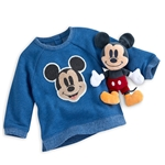 Disney Mickey Mouse Blue Gift Set for Baby