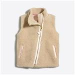 Jcrew Girls sherpa vest