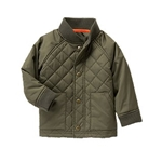 Crazy8 Quilted Bomber Jacket