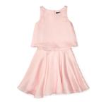 Polo Ralph Lauren Silk Organza Top & Skirt Set