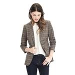 Bananarepublic Lightweight Wool Flannel One-Button Blazer