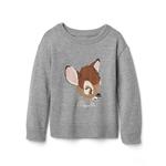 babyGap &#124 Disney Baby Bambi intarsia crew sweater