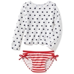Oldnavy 2-Piece July 4th Rashguard Set for Toddler