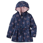 Oshkoshbgosh Butterfly Print Lightweight Hooded Jacket