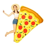 Marljohns MarlJohns Giant Inflatable Pizza Slice 72x60